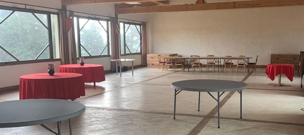 Salle des chevaliers - RougePeyre